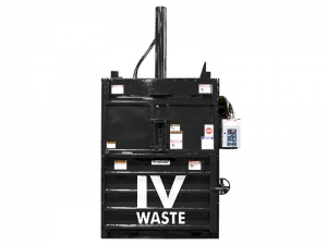 Commercial garbage compactor by IV Waste
