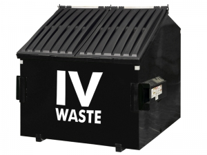 Front Load Dumpster by IV Waste